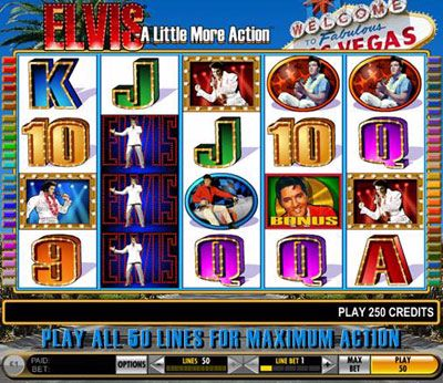 Elvis Slots - A Little More Action